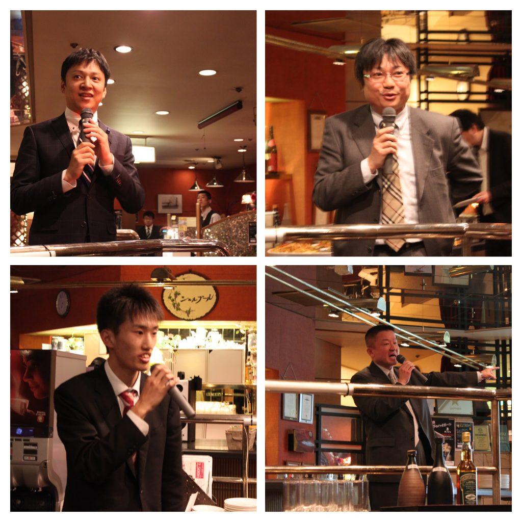 宮城県議会からは中澤様、横山様、遠藤様が。県の課題などもつぶさに考えさせらる良い会となりました。