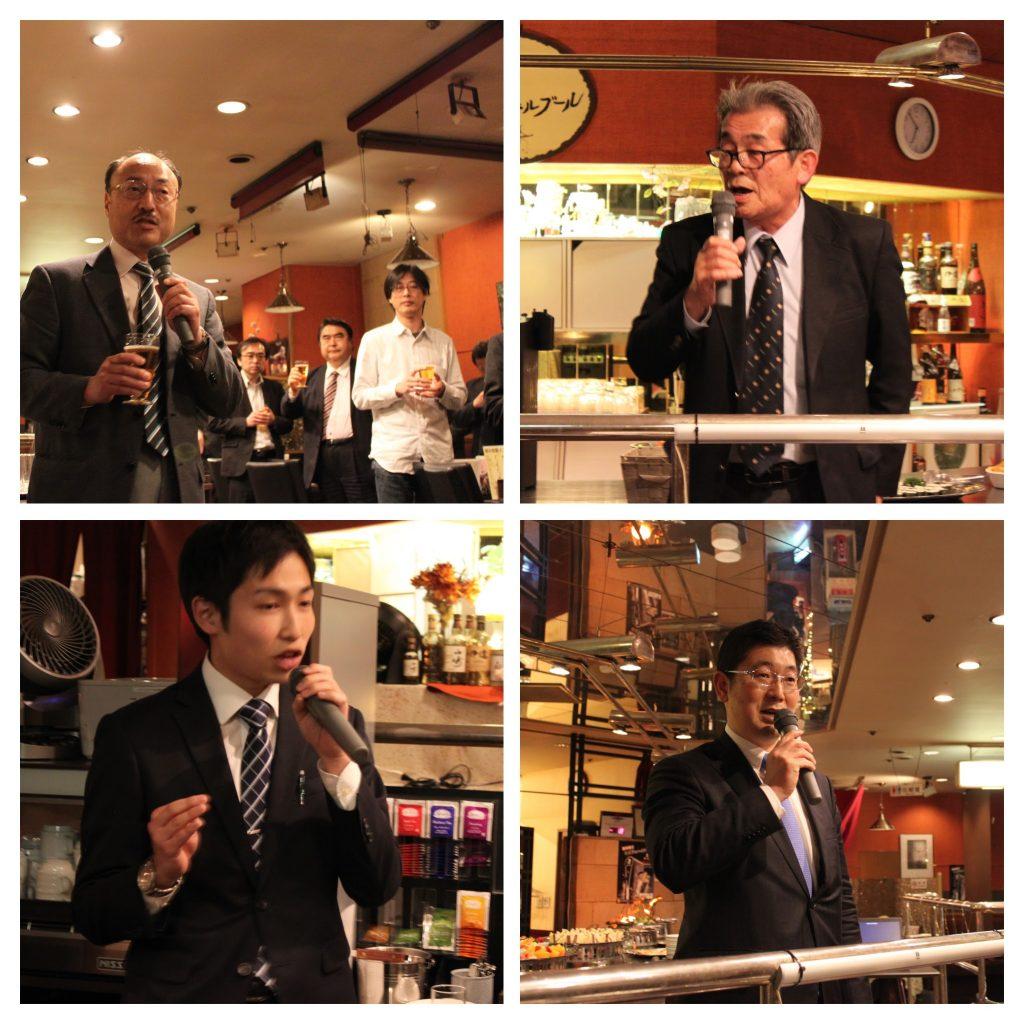 仙台市議会よりは鎌田市議、菊池市議、渡辺市議、他学生の若い皆様も多く集まり、幅広い歓談の会となりました。