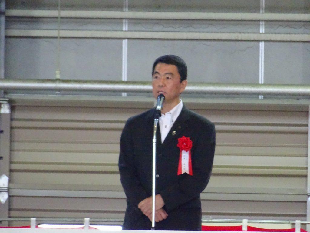 村井宮城県知事も復興を祝しこの日を祝った。