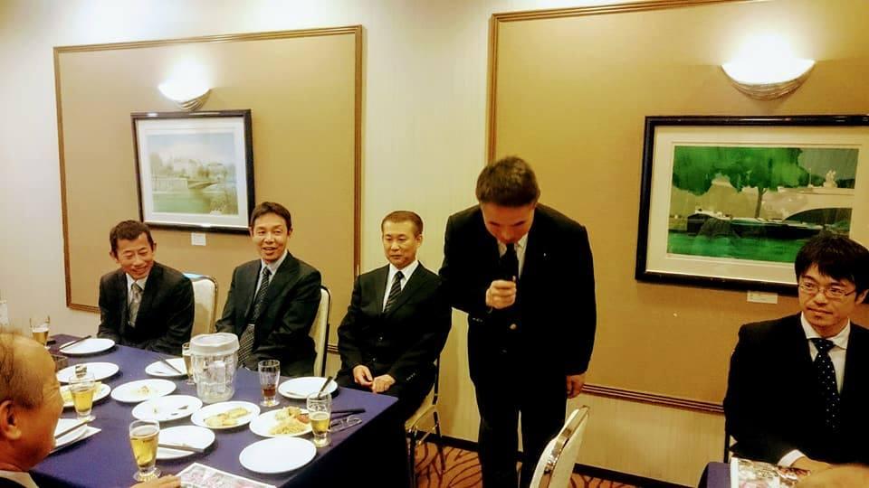 当日は宮城県議会かんま進議員にもお越しいただき、非常に多方面にわたる交流も進んだ良い会となりました。