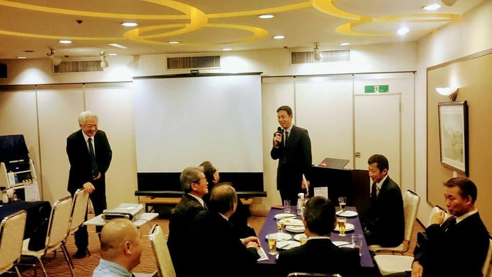 当日は同じく空自松島基地飛行群浜司令にもご参加いただき、スクランブル等の話に参加者との質疑が白熱しました。