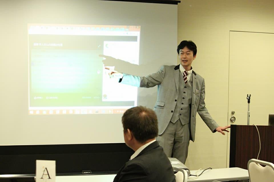 本会に先立ち開催されたサイバーセキュリティ勉強会では本会への大陸系と思われるサイバー攻撃事案について、手口とコードの検証が行われました。宮城支部事務局の高橋(株式会社Sola.com 代表取締役)が勉強会講師を務めました。