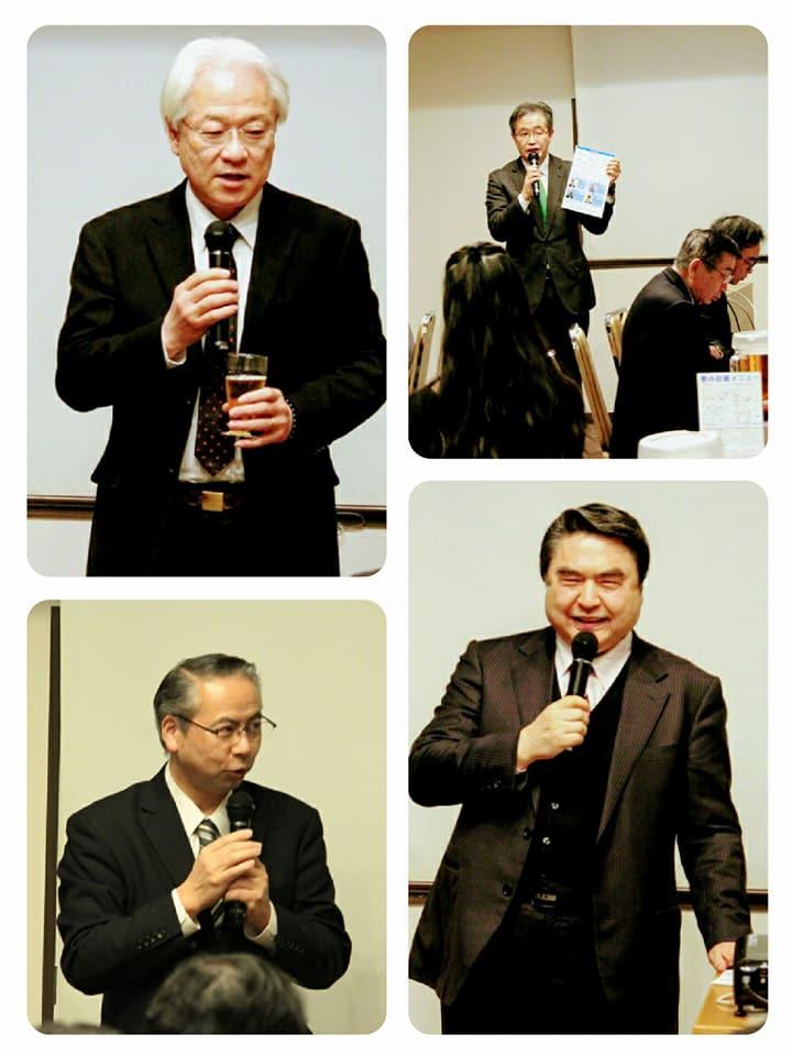 当日は会員の皆様による小スピーチも活発に行われ、政治、経済など広い分野での議論が深まりました。皆様有難うございました。