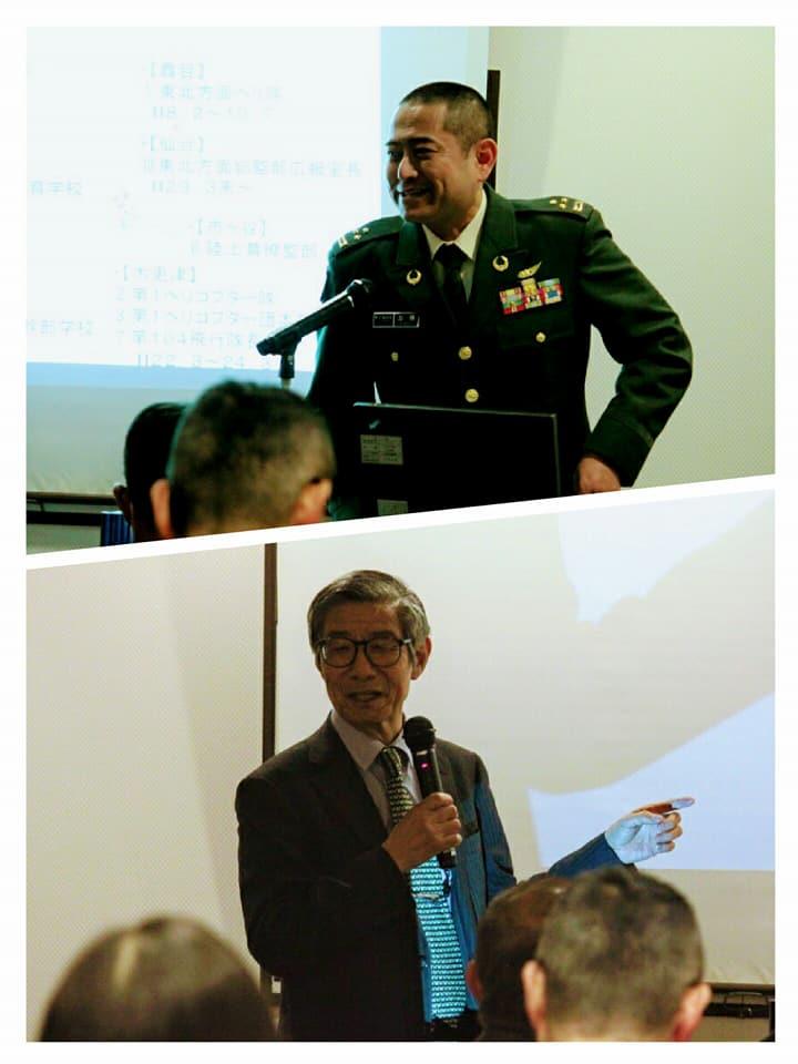 支部長・油川からの紹介に続き、この日の講師・加藤広報室長様にお話頂きました。有難うございました。
