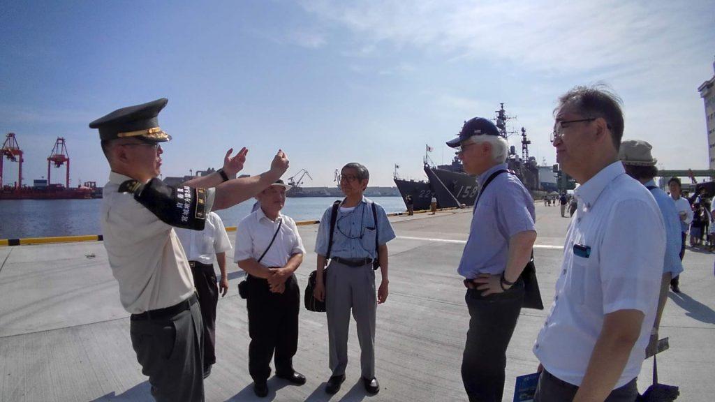 当会定例会でもご講話頂きました古屋宮城地本長からも各艦のご解説を頂きました。感謝申し上げます。