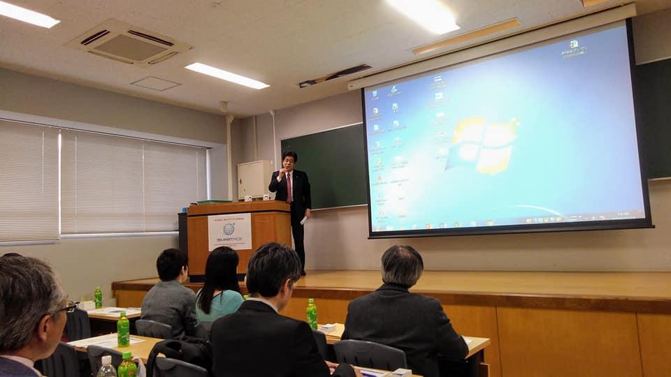 当会会員でもある衆議院議員・土井亨先生からご講話がありました