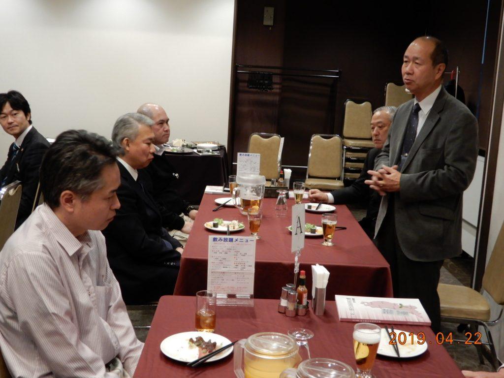 松島基地・M司令よりご挨拶を賜りました。