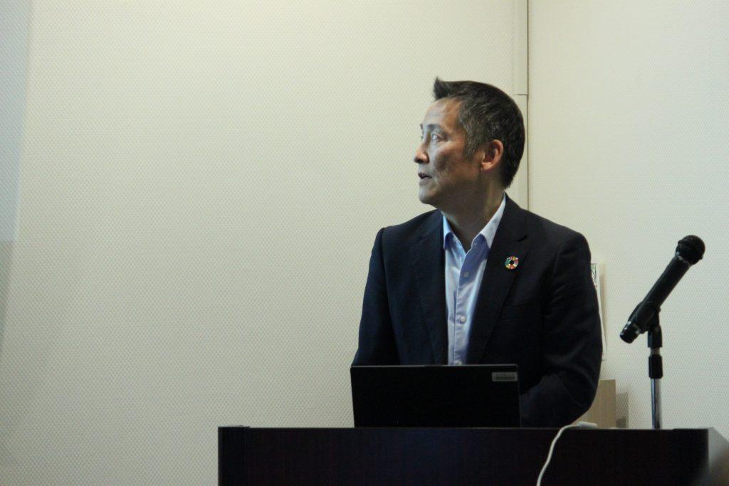 JICA東北・三村次長様に貴重なご講話をいただきました。ありがとうございました