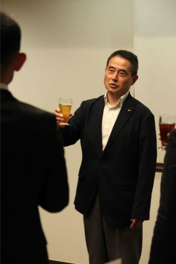 県議会議員・K先生より乾杯のご発声を賜りました。