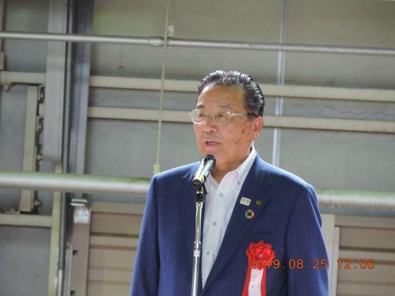 渥美巌東松島市長のほか、国会議員の先生方も多数お見えでした